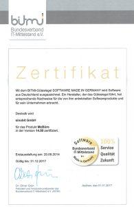 BITMI-Zertifikat