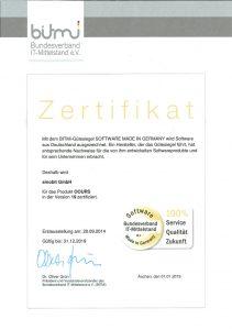 BITMi Zertifikat 2019