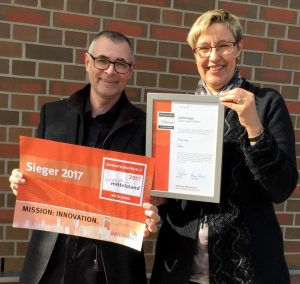 Innovationspreis-IT 2017 Zertifikat