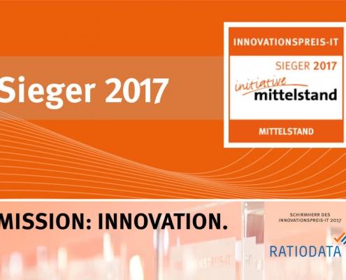 Innovationspreis-IT 2017 Siegerplakat