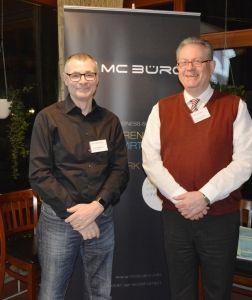 OOURS Veranstaltung in Norderstedt (Willi Kamann, Geschäftsführer sinobit GmbH, Jens Krack)