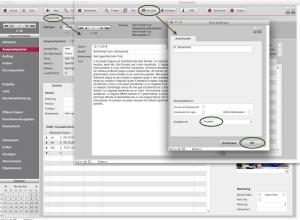 Serienmailversand: CRM-Eintrag im Adressmodul erzeugen
