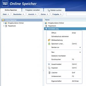 Datenaustausch: Download von Dateien aus dem Onlinespeicher
